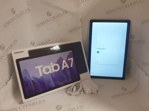 Lot 2 BOXED SAMSUNG GALAXY TAB A7 32GB ANDORID TABLET - DARK GREY