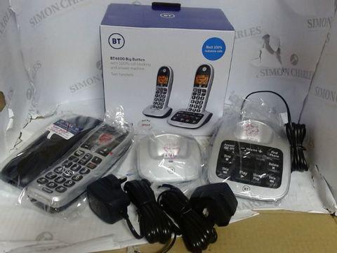 Lot 927 BT BT4600 BIG BUTTON TELEPHONES