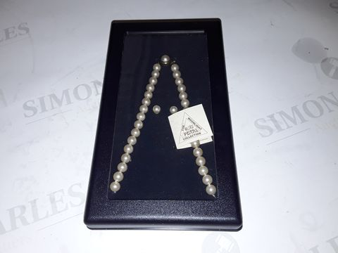 Lot 8300 BOXED MALLORCA PEARL COLLECTION MOONLIGHT NECKLACE