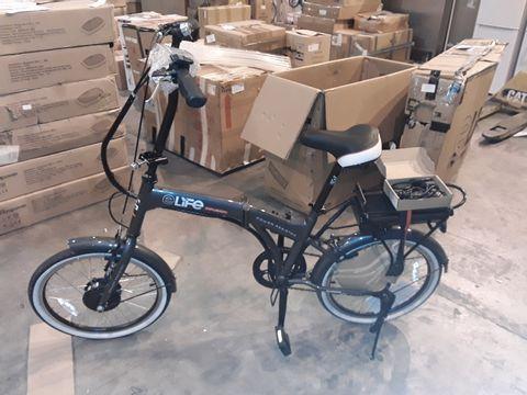 Lot 8325 ELIFE QDOS 6SP 24V 250W FOLDING ELECTRIC BICYCLE