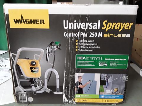 Lot 207 WAGNER AIRLESS CONTROLPRO 250 M PAINT SPRAYER