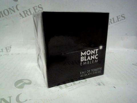 Lot 3071 BRAND NEW AND SEALED MONT BLANC EMBLEM EDT 40ML