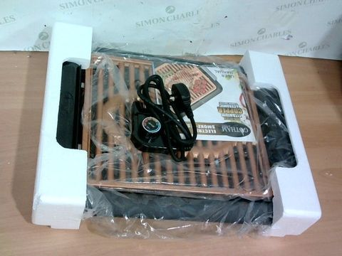 Lot 3375 GOTHAM STEEL COPPER NON-STICK ELECTRIC INDOOR GRILL