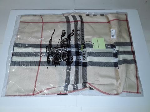 Lot 10 BURBERRY STYLE SCARF