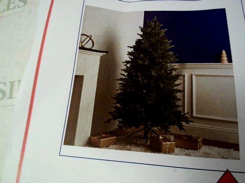Lot 12031 BOXED SANTA'S BEST CHRISTMAS TREE- NATURAL 6FT