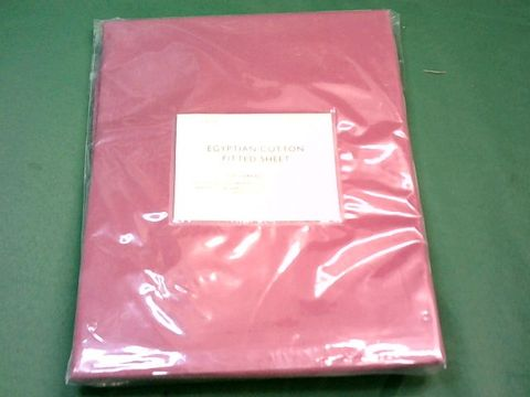 Lot 9014 JOHN LEWIS EGYPTIAN COTTON FITTED SHEET - SINGLE
