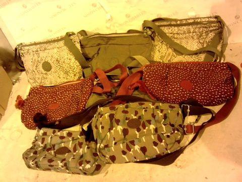 Lot 15796 BOX OF 8 KIPLING BAGS