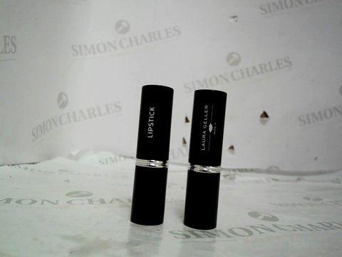 Lot 8678 Laura Geller Italian Marble Lipstick 2 Piece Colleciton