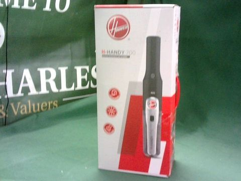 Lot 4017 HOOVER H-HANDY 700 CORDLESS PETS VACUUM CLEANER PARTS