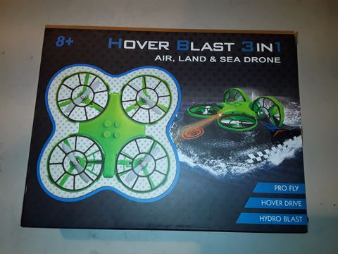 Lot 3096 HOVER BLAST 3IN1 AIR, LAND AND SEA DRONE