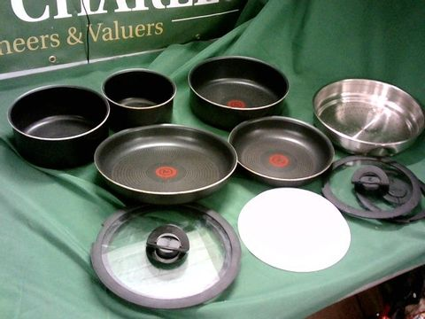 Lot 4093 TEFAL TEFAL INGENIO EVERYDAY POTS AND PANS SET