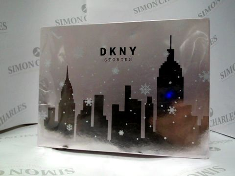 Lot 8061 DKNY STORIES - EDP AND COSMETICS BAG