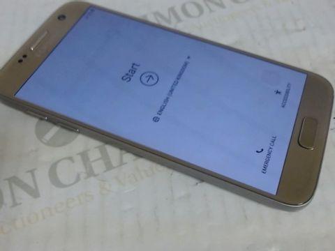 Lot 7609 SAMSUNG GALAXY S7 MOBILE PHONE
