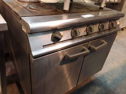 Lot 512 FALCON ELECTRIC RANGE WITH DOUBLE DOOR OVEN