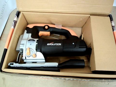 Lot 15139 EVOLUTION 710W CORDED JIGSAW WITH VARIABLE SPEED CONTROL