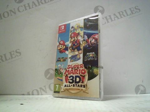 Lot 3011 SUPER MARIO 3D ALL STARS NINTENDO SWITCH GAME