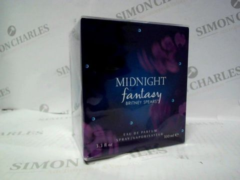 Lot 3066 BRAND NEW AND SEALED BRITNEY SPEARS MIDNIGHT FANTASY EDP 100ML