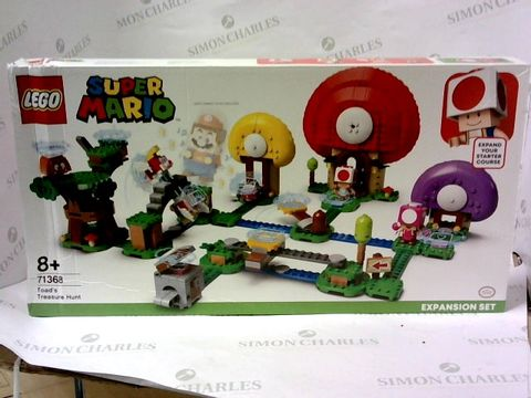 Lot 5445 LEGO SUPER MARIO 71368 TOAD'S TREASURE HUNT EXPANSION SET RRP £94.99