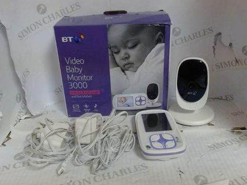 Lot 4609 MOTOROLA BT VIDEO BABY MONITOR 3000 RRP £99.99