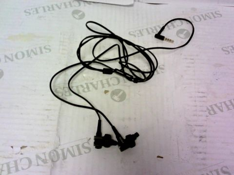 Lot 999 SONY MDR-XB50AP IN-EAR EXTRA BASS HEADPHONES WITH IN-LINE CONTROL - BLACK