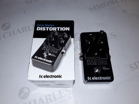 Lot 8334 TC ELECTRONIC DARK MATTER DISTORTION
