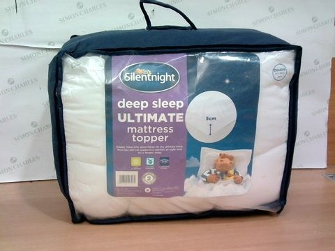Lot 2276 SILENT NIGHT DEEP SLEEP ULTIMATE MATTRESS TOPPER - DOUBLE