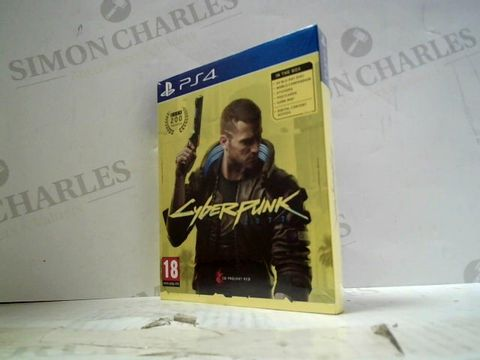 Lot 17 CYBERPUNK 2077 PLAYSTATION 4 GAME