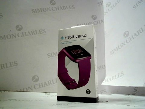 Lot 8203 FITBIT VERSA LITE EDITION FITNESS TRACKER