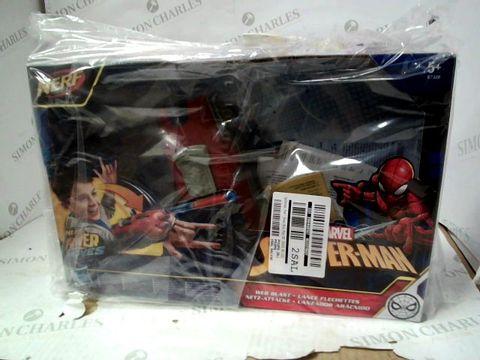 Lot 15068 NERF SPIDER-MAN WEB BLAST RRP £24.99