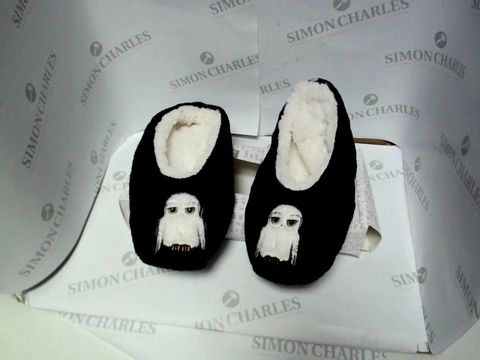 Lot 13050 BOXED PAIR OF DESIGNER HARRY POTTER SLIPPERS