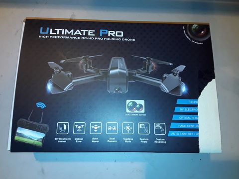 Lot 3069 ULTIMATE PRO HIGH PERFORMANCE FOLDING DRONE