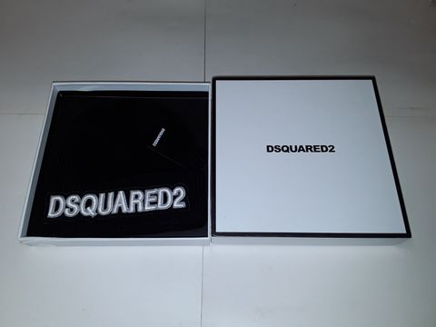 Lot 83 DSQUARED2 BEANIE HAT IN BLACK