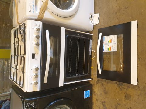 Lot 7073 SWAN SX15862W 60CM DOUBLE GAS COOKER - WHITE RRP £299.99