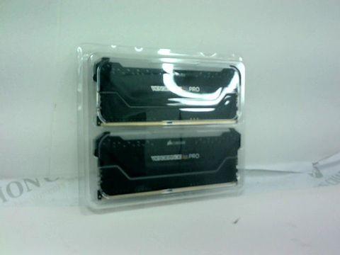 Lot 4185 CORSAIR VENGEANCE RGB PRO 16GB (2X8GB) DDR4 3600 (PC4-28800) C18 AMD OPTIMIZED MEMORY – BLACK