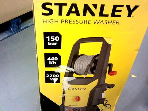 Lot 414 STANLEY SXPW22PE HIGH PRESSURE WASHER
