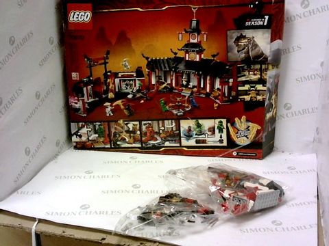 Lot 5479 BOXED LEGO MONASTRY OF SPINJITZU SET RRP £99.90