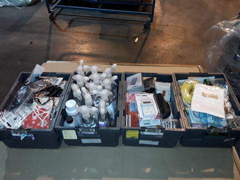 Lot 4067 CAGE OF ASSORTED UNPROCESSED HOUSEHOLD PRODUCTS