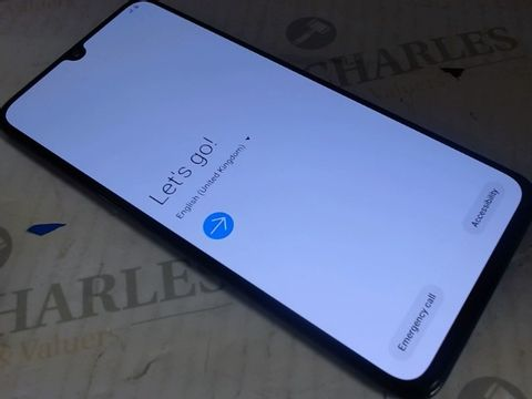 Lot 7598 SAMSUNG GALAXY A70 MOBILE PHONE GRAPHITE