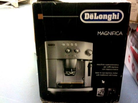 Lot 1037 DE'LONGHI MAGNIFICA AUTOMATIC BEAN TO CUP COFFEE MACHINE