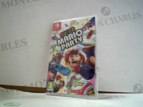 Lot 8178 SUPER MARIO PARTY NINTENDO SWITCH GAME