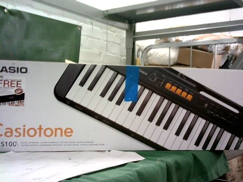 Lot 150 CASIO CT-S100AD 61 KEY SLIMLINE AND SUPER COMPACT PORTABLE ELECTRONIC KEYBOARD