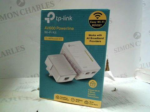 Lot 231 TP-LINK AV600 POWERLINE WIFI KIT TL-WPA4220 KIT