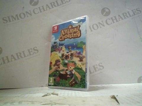 Lot 34 ANIMAL CROSSINGS: NEW HORIZONS NINTENDO SWITCH GAME