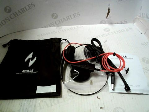 Lot 92 AVALLE HEADSET