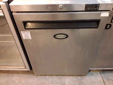 Lot 530 FOSTER UNDER COUNTER COMMERCIAL FRIDGE