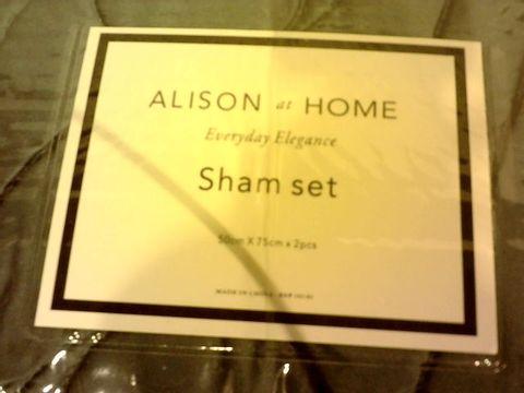 Lot 266 ALISON AT HOME SHAM SET