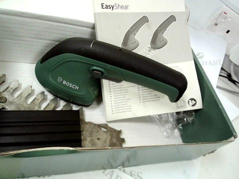 Lot 12402 BOSCH 600833300 EASYSHEAR CORDLESS GARDEN SHEARS