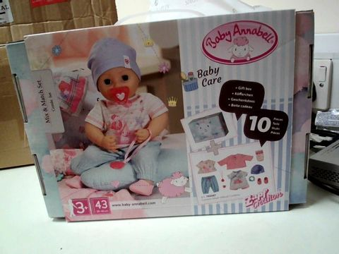 Lot 474 BABY ANABELL MIX & MATCH SET RRP £37.99