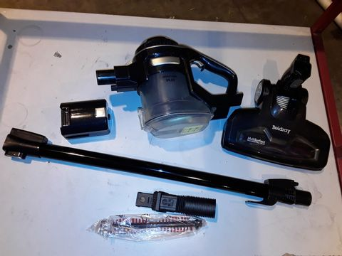 Lot 3052 BELDRAY AIRGILITY + CORDLESS VACUUM CLEANER