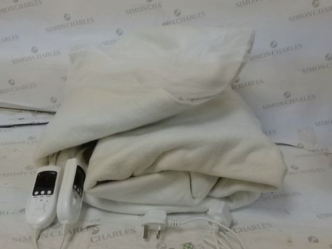 Lot 197 HOMEFRONT ELECTRIC BLANKET DUAL CONTROL KING SIZE